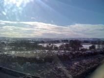Winter scene over the vale of Isles Fivehead