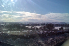 Winter scene over the vale of Isles Fivehead