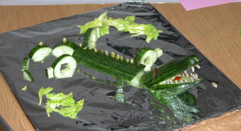 Beware the Croc! First Prize