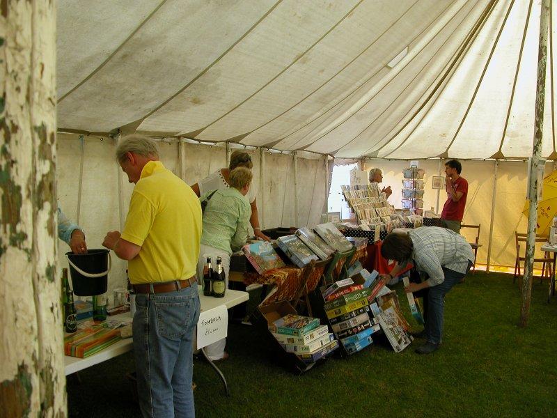 Various stalls