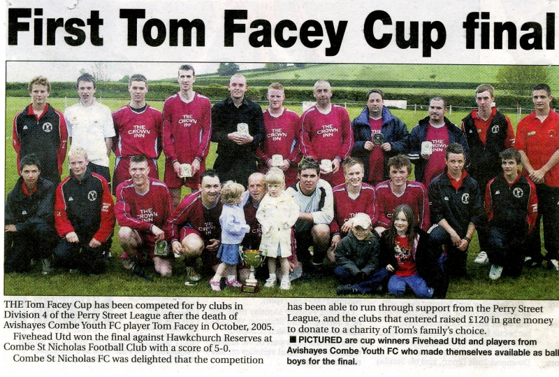 Fivehead United Cup