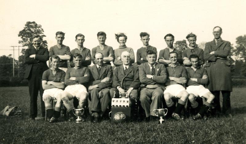 Football Team 1950s