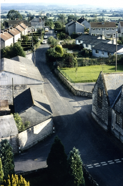 South looking from the top of St. Martin's Church tower
