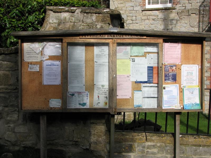 Fivehead Village Noticeboard