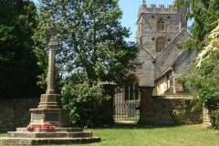 Fivehead St. Martin's Church and War Memorial