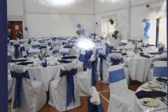 Set up fpr a wedding