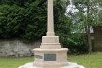 War Memorial Rededication